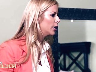 Buxomy Mom Alexis Fawx Penalizes Her Super-naughty Daughter-in-law