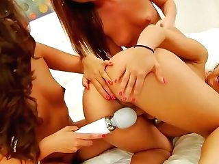Crazy Brown-haired, Girl/girl Adult Movie