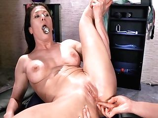 And Ass-fuck Corporal Therapy With Mia Li