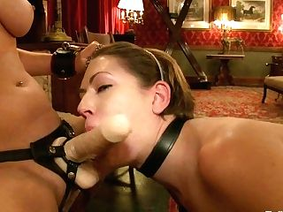 Cherry Ripped & Sarah Shevon In Service Session: The Palace Pet - Theupperfloor