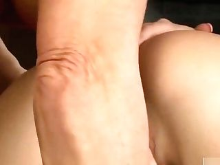 Sexy Mummy And Teenage Pleasing Each Other