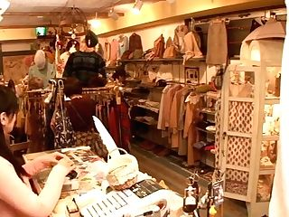 Japanese Lesbo Shop Assistant
