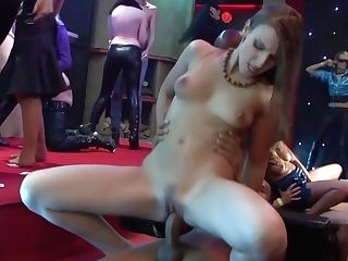 Crazy Group Fucking Vid From Night Club