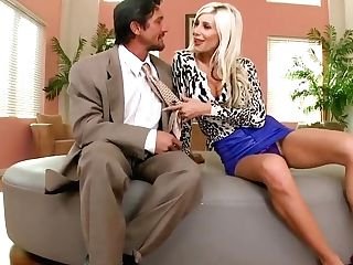 Puma Swede Seducing A Dude To Fuck Her Very Hard With His Nice Man Sausage