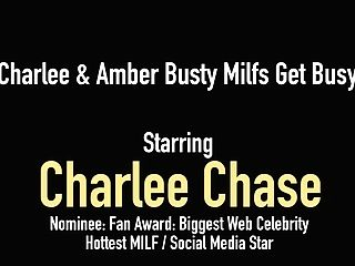 Matures Mommies Charlee Chase & Amber Lynn Bach Finger Fuck!
