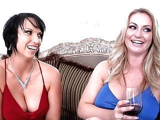 Exotic Pornographic Stars Jenaveve Jolie And Nautica Thorn In Amazing Fake Penises/playthings, Latina Adult Scene