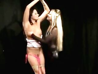 Lezzie Domination Mistress Torments Her Captive