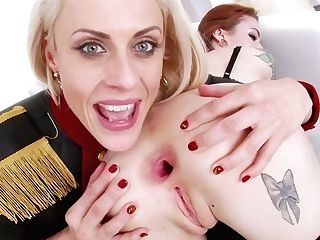 Stunning Crazy Lezzies Fuck Stick Fuck Each Others Gaped Anal Invasion Fuck-holes