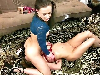 Horny Mistress Cheyenne Jewel Spanks And Fucks Tied Up Subjugated